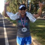 """Jeaney ceremoniously """"finishes"""" her 2013 Boston, back home in Hawaii"""